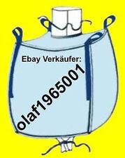 * 8 Stk. BIG BAG 60 cm hoch - 105 x 75 cm Bags BIGBAG Fibc FIBCs 500kg Traglast