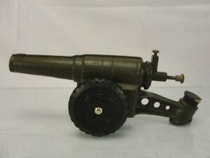 1950S BIG BANG HOWITZER CAST IRON CANNON MILITARY ARTILLERY TOY