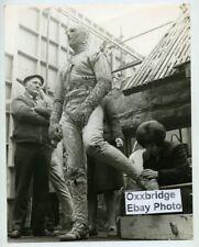 The Mummy 1959 Eddie Powell Original Photo Candid On Set Hammer Films Horror