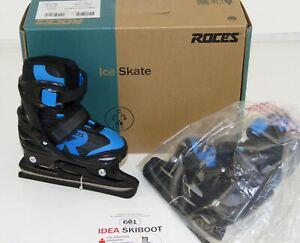 Roces Children's Jokey Ice 2.0 Boys Adjustable Ice Skate 26-29 EU JUNIOR 9-11 UK