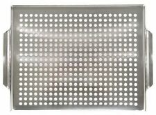Grill Topper, Outdoor Cooking Accessories Tray Bar BBQ Stainless Steel New