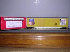 "INTER.#45616  Union Pacific ""Yellow"" 50' PS-1 Double Door Box Car w/2 #s H.O.Ga."