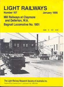Light Railways magazine Number 107 Jan 1990