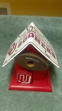 Handcrafted Oklahoma License Plate & Wood Birdhouse Bird House New
