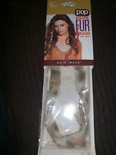 "Pop Faux Fur Braid 16""(41 Cm) Lynx Hair Accessory 1Pk Hair U Wear Nip. B26"