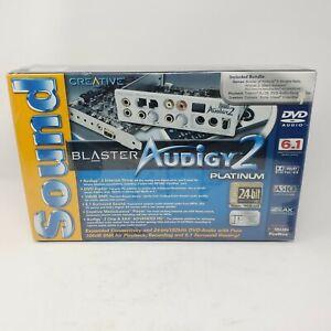 Creative Sound Blaster Audigy 2 Platinum New Factory Sealed