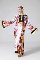 PGM New Women's Loose Long Sleeve Floral Printed Summer Maxi Dress Plus Size