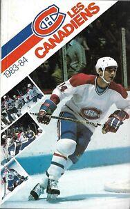 Montreal Canadiens NHL Ice Hockey Media Guide 1982/83 1983/84 #14 Mario Tremblay