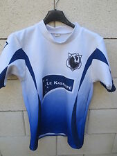 Maillot rugby porté n°7 CAMBON-CUNAC shirt moulant ATDC match worn shirt L
