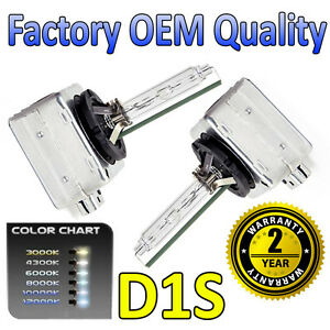 Peugeot 3008 09-on D1S HID Xenon OEM Replacement Headlight Bulbs 66144