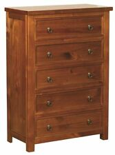 Sweet Dreams Curlew Jackdaw Wild Cherry 5 Drawer Chest Solid Wood Traditional