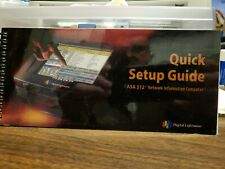 ASA312 Digital Lightwave Quick Setup guide