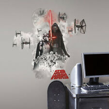 STAR WARS VII THE FORCE AWAKENS VILLAINS wall stickers 3 decals MURAL room decor