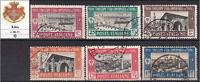Italy Libia - Tripoli Fair  1^ Sassone n.66-71 - cv 205$ - used