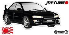 Subaru WRX Impreza  V1 - Black with Factory Rims - JDM - JapTune Brand