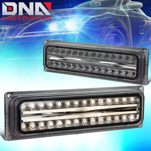 FOR 1988-2001 CHEVY/GMC SUBURBAN C/K LED LOOK BUMPER TURN SIGNAL LIGHT/LAMPS