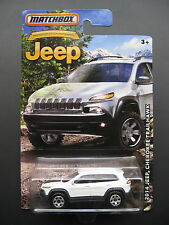 White 2014 Jeep Cherokee Trailhawk Diecast Toy Car 2015 2016 2017 model off road