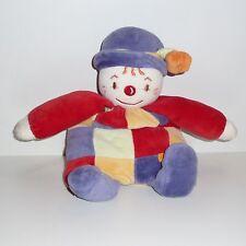Doudou Clown Sucre d'Orge