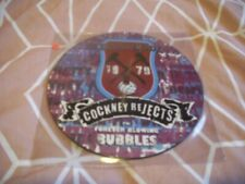 """COCKNEY REJECTS forever blowing bubbles the rocker 7"""" picture disc unplayed"""