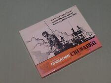 Operation Crusader - Game Designers' Workshop (GDW) - UP - Complete + Bonus
