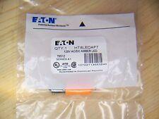 Eaton HT8 HT8LEDAF7 120VAC/DC 30.5mm Amber LED Indicating Replacement Bulb