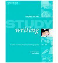 Good, Study Writing: A Course in Writing English for Academic Purposes: A Course