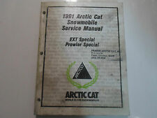 1991 Arctic Cat EXT Special Prowler Special Service Repair Shop Manual OEM STAIN