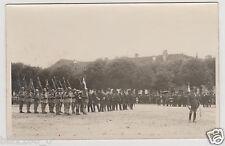 PHOTO ANCIENNE . Cérémonie militaire . Décorations . Régiment . Officiers .