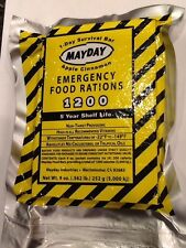 Mayday 1 Day Survival Bar Emergency Bug Out Bag Survival Doomsday Food Rations