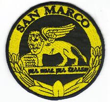 [Patch] SAN MARCO – PER MARE PER TERRA cm 9 verde toppa ricamata ricamo -064
