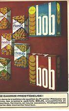 PUBLICITE ADVERTISING  1965  BELIN biscuits gateaux apéritif