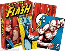 Flash Playing Cards JLA Barry Allen Wally West Poker Card Deck New Mint Sealed