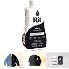 Rit Dye 43327 Purpose Liquid Dye, Black, 8 Fl Oz 1-Pack