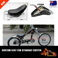 Push Bike Seat for Beach Cruiser Schwinn Vintage Stingray Chopper Custom Bicycle