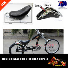 Push Bike Seat for Vintage Beach Cruiser Schwinn Stingray Chopper Custom Bicycle