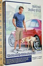 """Master Box """"Bart and Radley(Dog) - What he really thinks of your car"""" 1/24 USA"""
