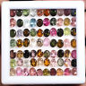 70 Pcs Natural Tourmaline Sparkling Top Quality Multi Color Gems 5mm/4mm Ovals