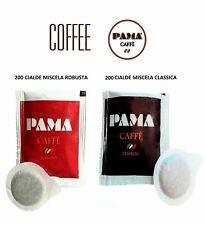 MIX 400 Cialde Caffè Pama Filtro carta ESE 44mm