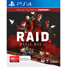 Raid: World War II - PlayStation 4 PS4 = AUSTRALIAN REGION