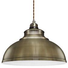 Vintage Antique Brass Hanging Ceiling Pendant Shade Clubs Bar Restaurant Light
