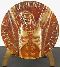 Médaille Saint André Juif de Galilée apôtre Jésus Christ Abel Lafleur 1950 medal