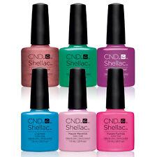 CND SHELLAC UV GEL- CND -Pick ANY 6 Color/ Base/Top 7.3ml/.25oz - SET OF 6 pcs