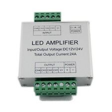 RGBW Amplifier 24A 4 Channel Signal DC12-24V Repeater 5050/3528 Strip Light UK
