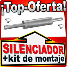Silenciador Intermedio VW GOLF III VENTO 1.4 1.6 1.8 91-99 Centro Escape MMK