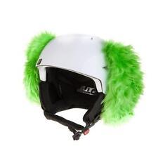Helmohren für Skihelm Green Dog - Hundeohren für Ski Helm Helmet Ears Hund grün