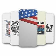 For Samsung Galaxy S10 Flip Case Cover USA Collection 1