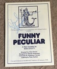 More details for richard beckinsale signed mermaid theatre programme- funny peculiar