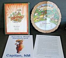 2 Smokey B's Grill (Smokey Bear) Menus--Mescalero, NM  New Mexico  Regular,child