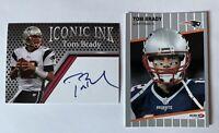 Tom Brady 2 Card Lot  Very Hotttt Collectible