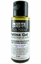 Cool Tools Stabilized Liver of Sulfur Patina Oxidation GEL 2 Ounces